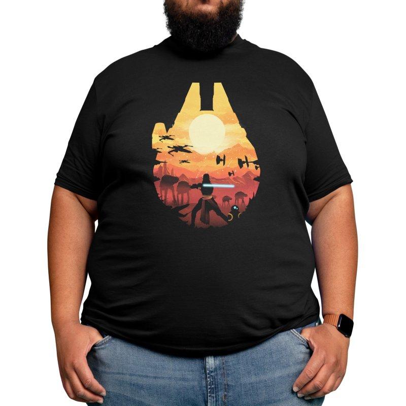 Jedi Sunset Men's T-Shirt by dandingeroz's Artist Shop