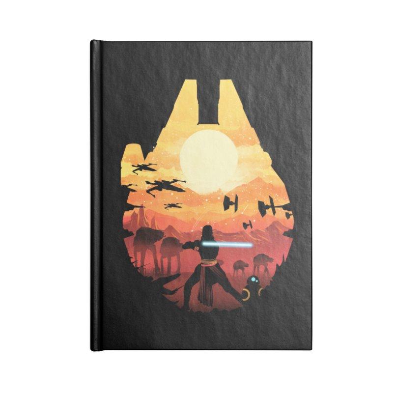 Jedi Sunset Accessories Notebook by dandingeroz's Artist Shop