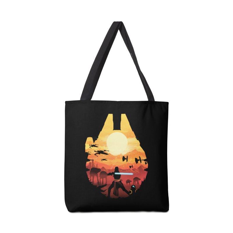 Jedi Sunset Accessories Bag by dandingeroz's Artist Shop
