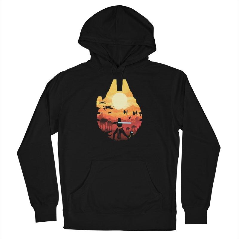 Jedi Sunset Men's Pullover Hoody by dandingeroz's Artist Shop