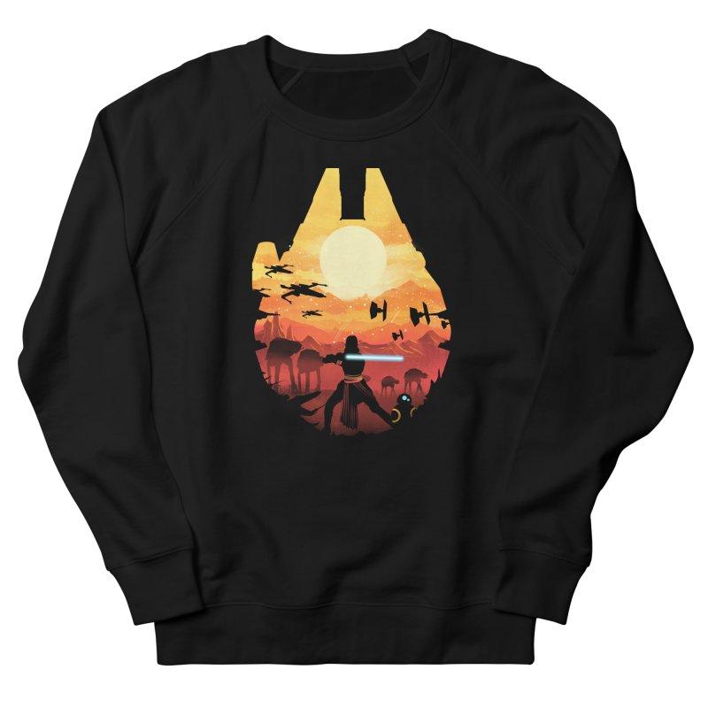 Jedi Sunset Men's Sweatshirt by dandingeroz's Artist Shop
