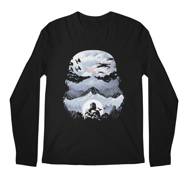 Storm Mountains Men's Longsleeve T-Shirt by dandingeroz's Artist Shop
