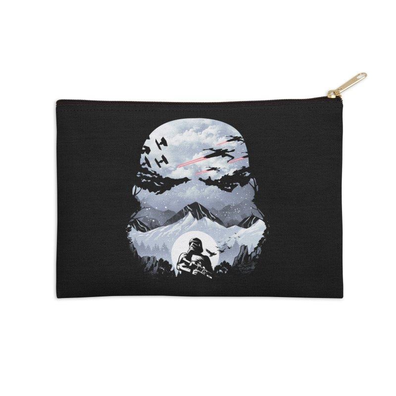 Storm Mountains Accessories Zip Pouch by dandingeroz's Artist Shop