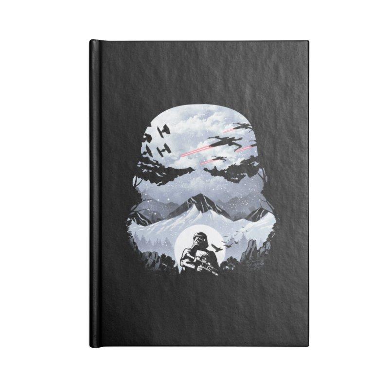 Storm Mountains Accessories Notebook by dandingeroz's Artist Shop