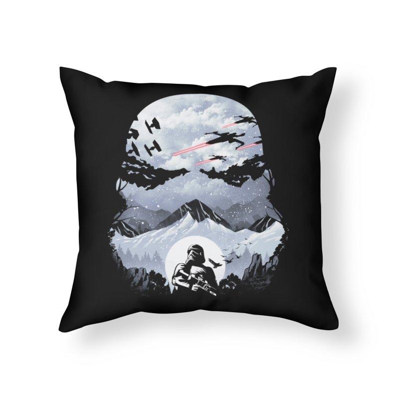 Storm Mountains Home Throw Pillow by dandingeroz's Artist Shop