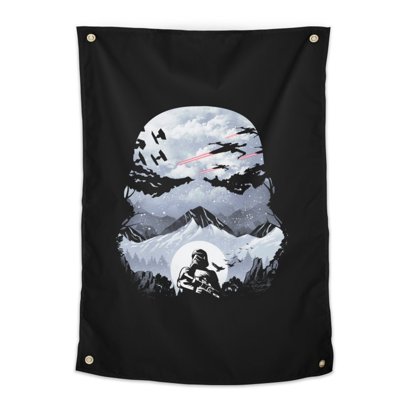 Storm Mountains Home Tapestry by dandingeroz's Artist Shop