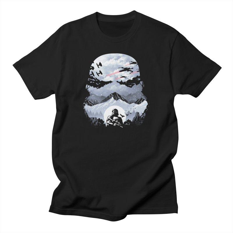 Storm Mountains Men's T-Shirt by dandingeroz's Artist Shop