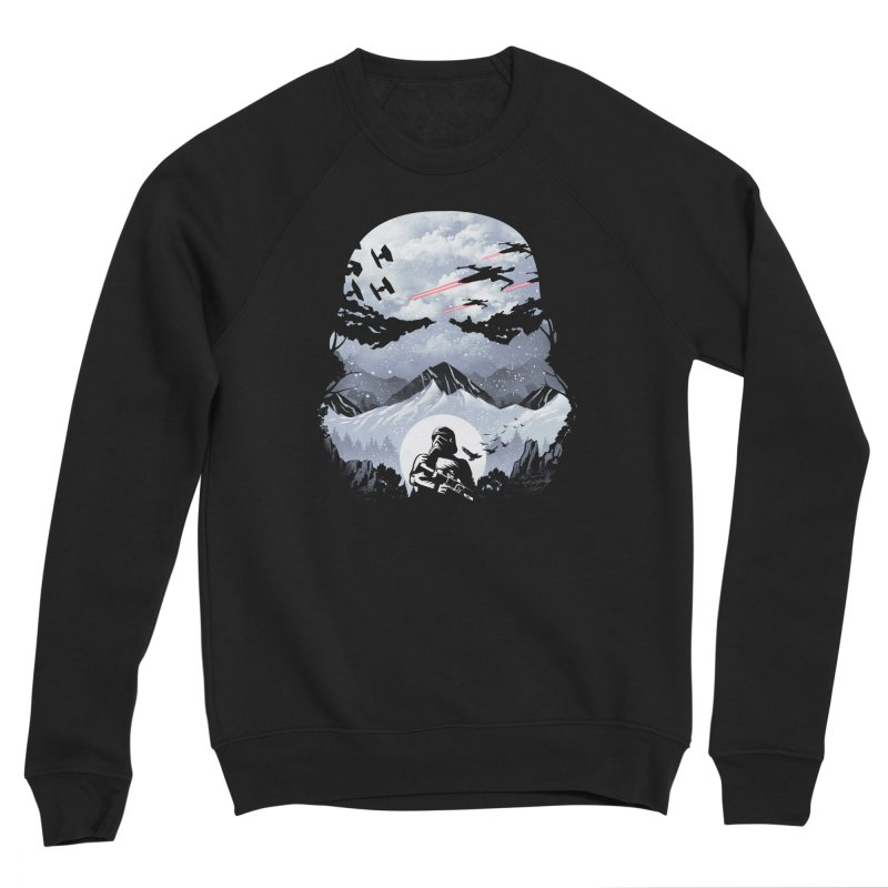 Storm Mountains Men's Sweatshirt by dandingeroz's Artist Shop