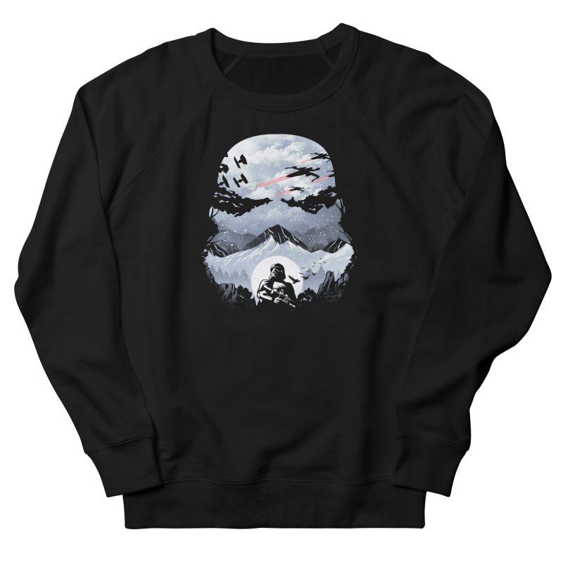 Storm Mountains Women's Sweatshirt by dandingeroz's Artist Shop