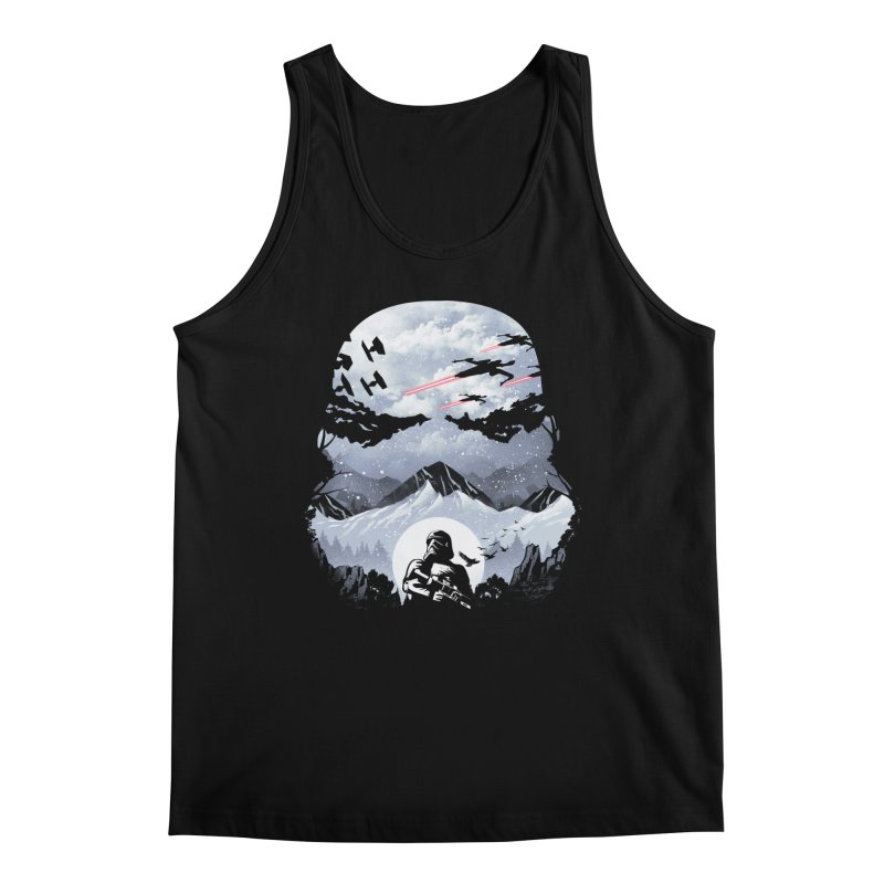 Storm Mountains Men's Tank by dandingeroz's Artist Shop