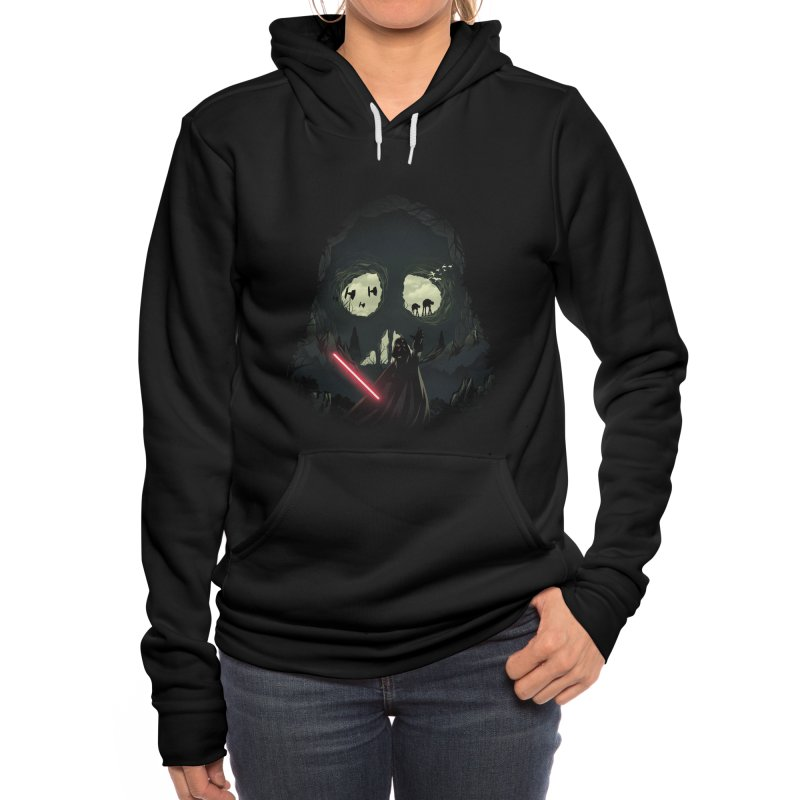 Dark Cave Women's Pullover Hoody by dandingeroz's Artist Shop