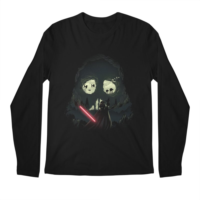 Dark Cave Men's Longsleeve T-Shirt by dandingeroz's Artist Shop