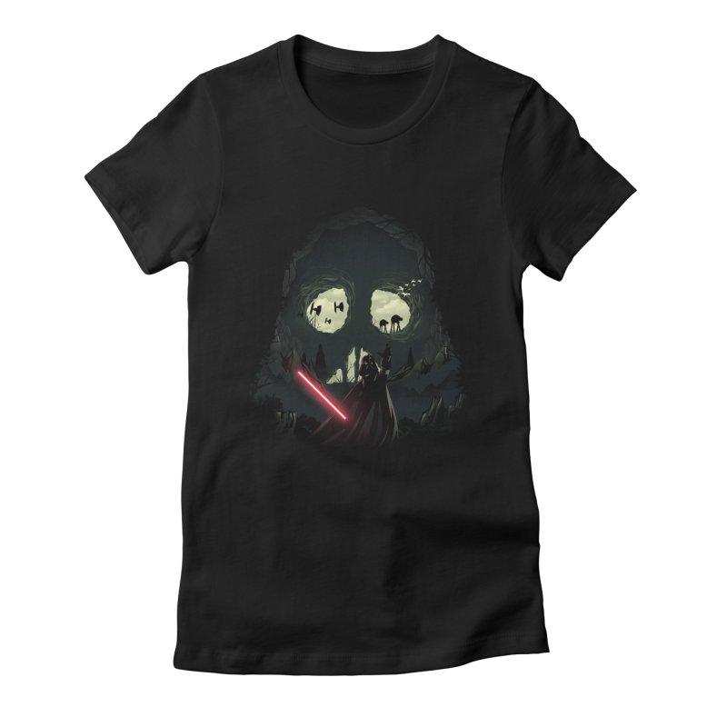 Dark Cave Women's T-Shirt by dandingeroz's Artist Shop