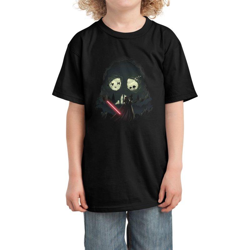 Dark Cave Kids T-Shirt by dandingeroz's Artist Shop