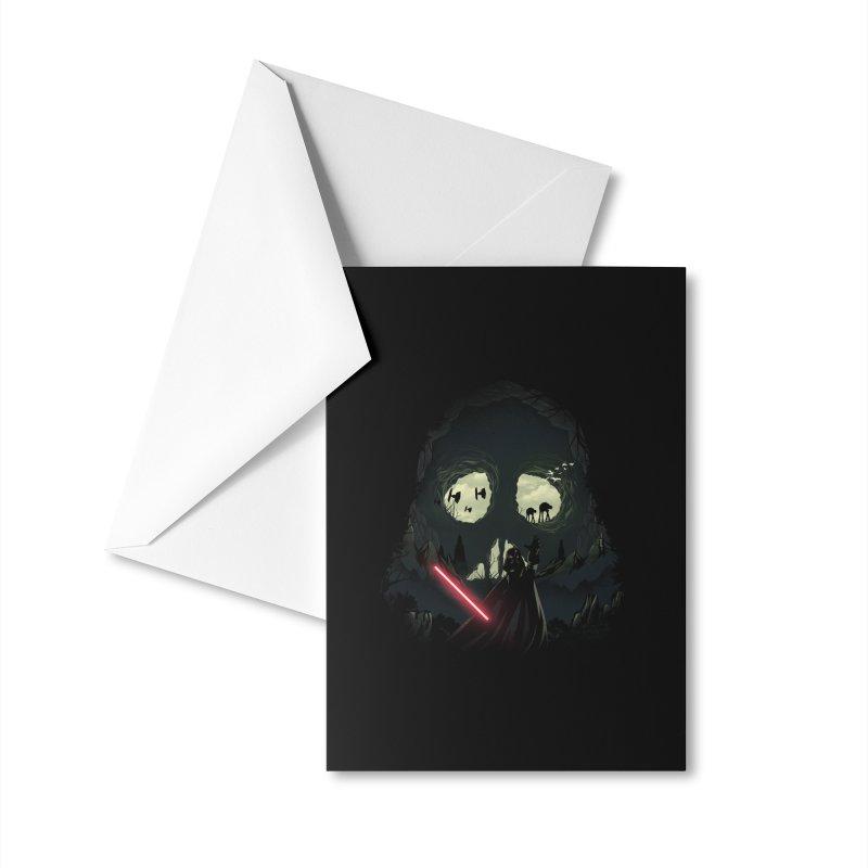 Dark Cave Accessories Greeting Card by dandingeroz's Artist Shop