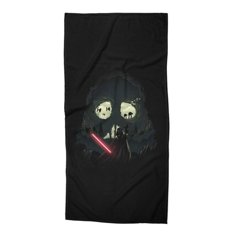 Dark Cave Accessories Beach Towel by dandingeroz's Artist Shop