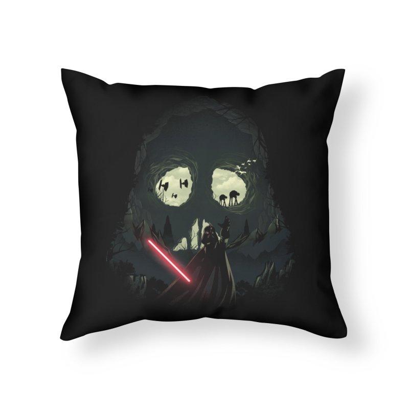 Dark Cave Home Throw Pillow by dandingeroz's Artist Shop