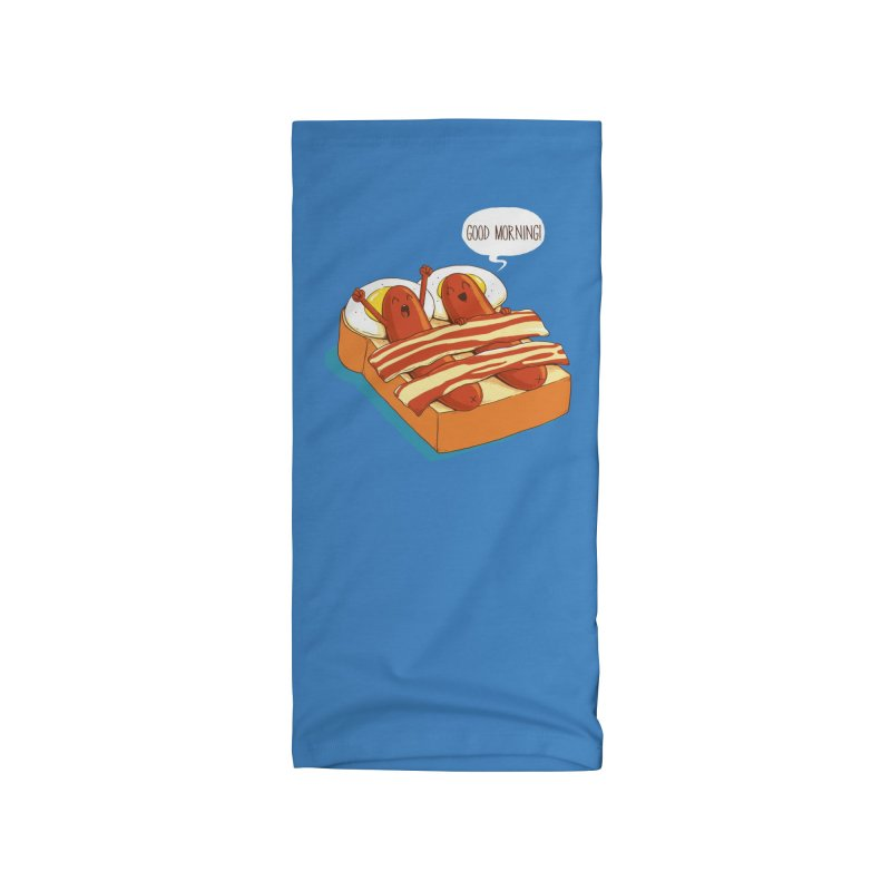 Breakfast on Bed Accessories Neck Gaiter by dandingeroz's Artist Shop