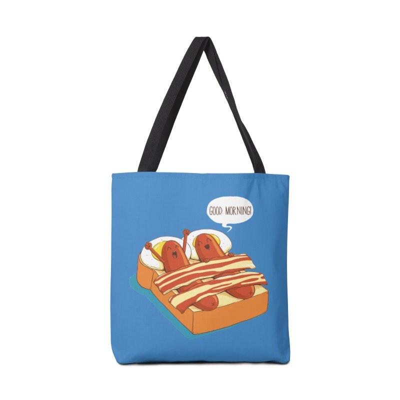 Breakfast on Bed Accessories Bag by dandingeroz's Artist Shop