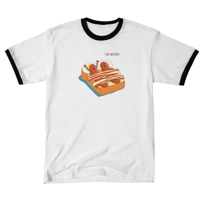 Breakfast on Bed Women's T-Shirt by dandingeroz's Artist Shop