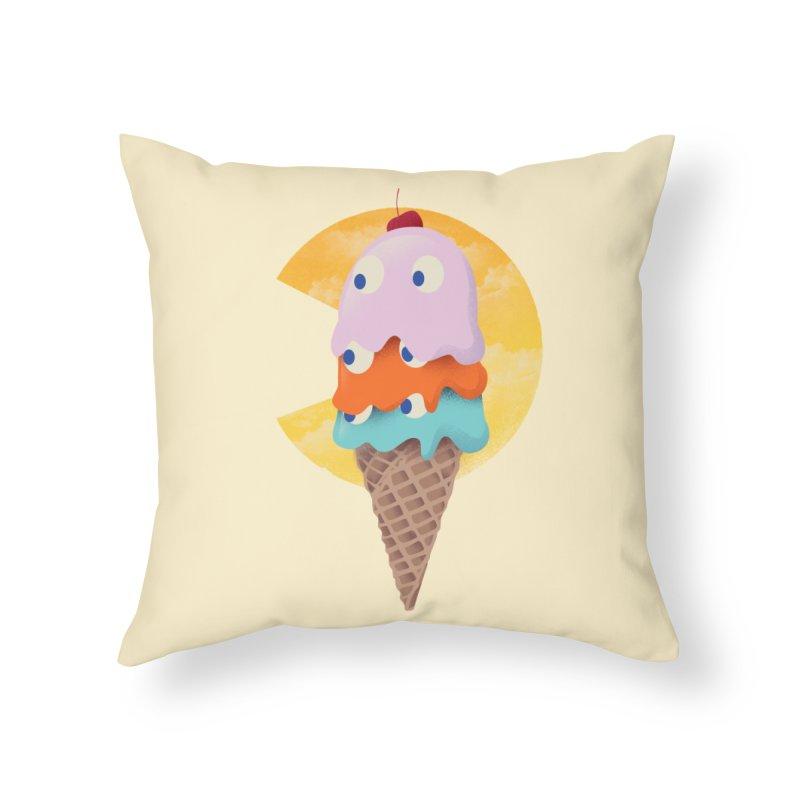 Summer Gaming Home Throw Pillow by dandingeroz's Artist Shop