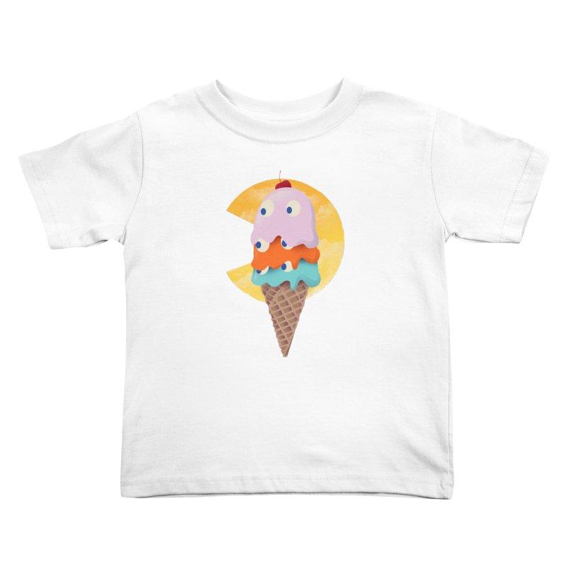 Summer Gaming Kids Toddler T-Shirt by dandingeroz's Artist Shop
