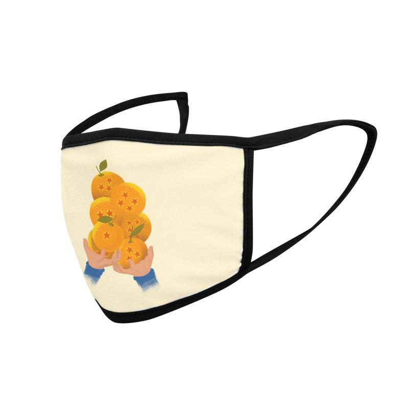 Dragon Citrus Accessories Face Mask by dandingeroz's Artist Shop