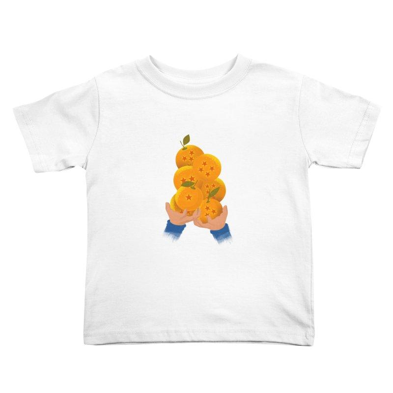 Dragon Citrus Kids Toddler T-Shirt by dandingeroz's Artist Shop