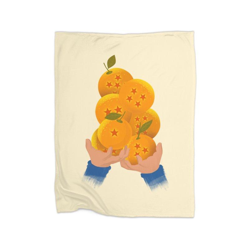 Dragon Citrus Home Blanket by dandingeroz's Artist Shop