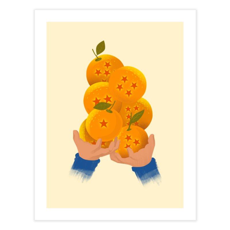 Dragon Citrus Home Fine Art Print by dandingeroz's Artist Shop