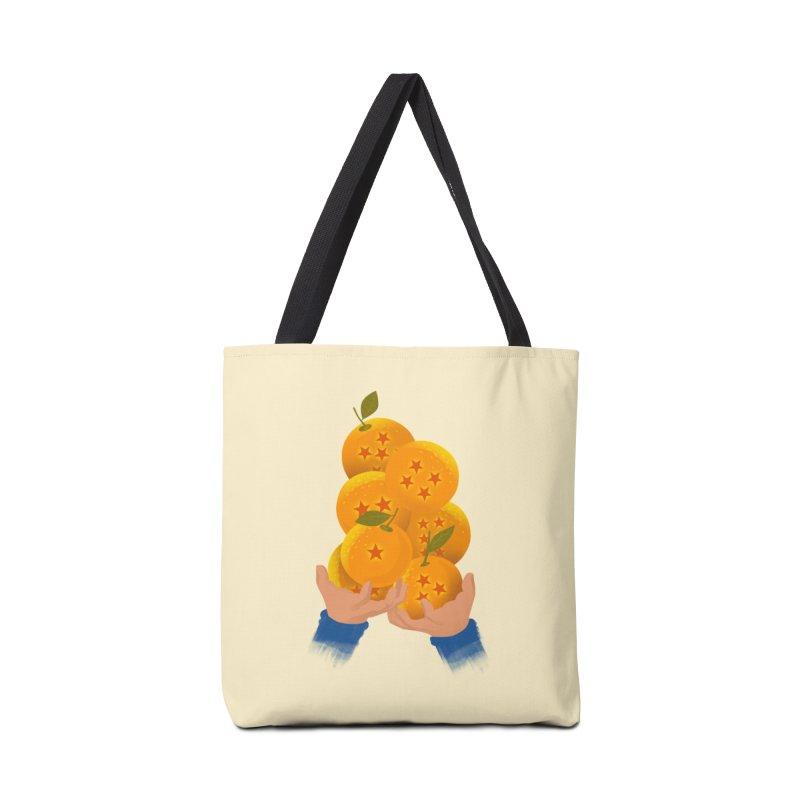 Dragon Citrus Accessories Bag by dandingeroz's Artist Shop