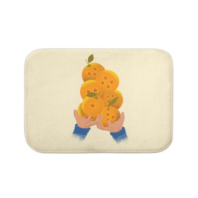 Dragon Citrus Home Bath Mat by dandingeroz's Artist Shop