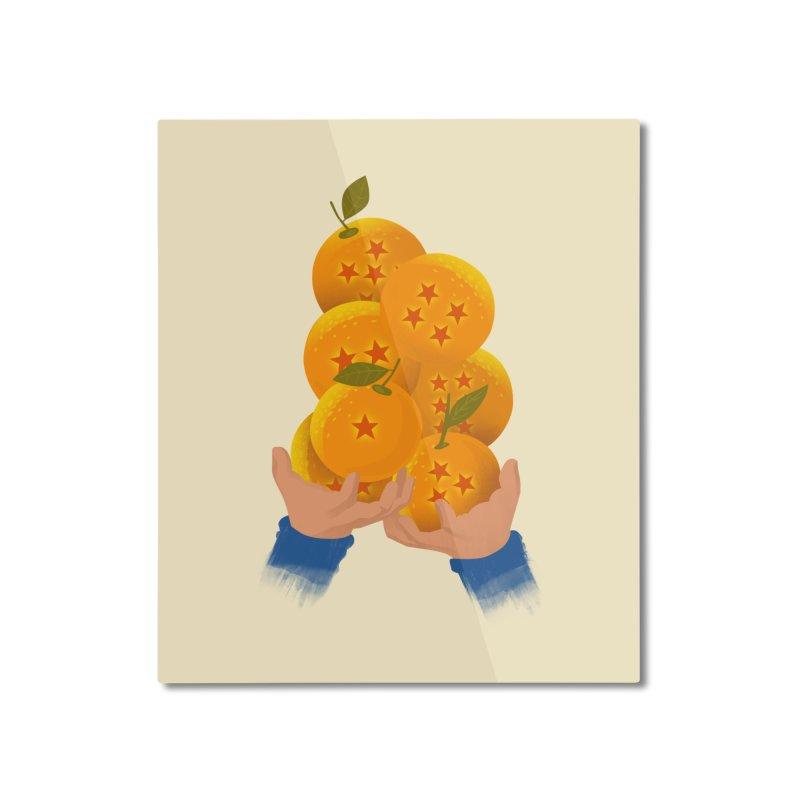 Dragon Citrus Home Mounted Aluminum Print by dandingeroz's Artist Shop