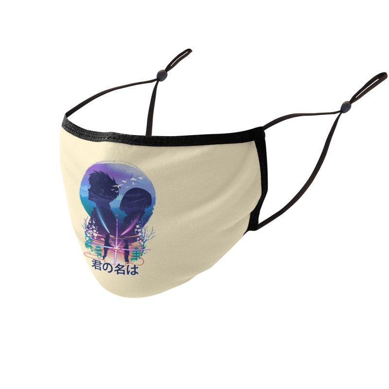 Our soul still connected Accessories Face Mask by dandingeroz's Artist Shop