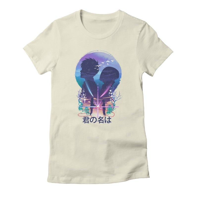 Our soul still connected Women's T-Shirt by dandingeroz's Artist Shop
