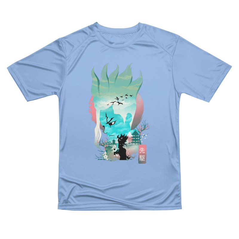 Senku Landscape Men's T-Shirt by dandingeroz's Artist Shop