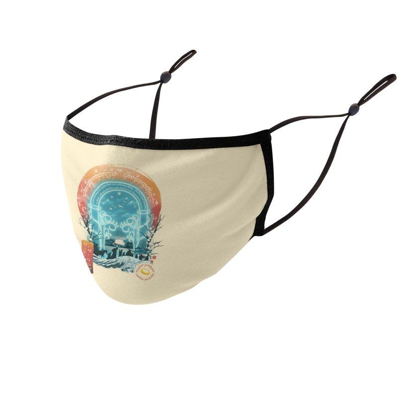 Ukiyo E Magical Landscape Accessories Face Mask by dandingeroz's Artist Shop