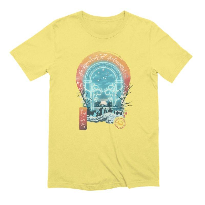 Ukiyo E Magical Landscape Men's T-Shirt by dandingeroz's Artist Shop