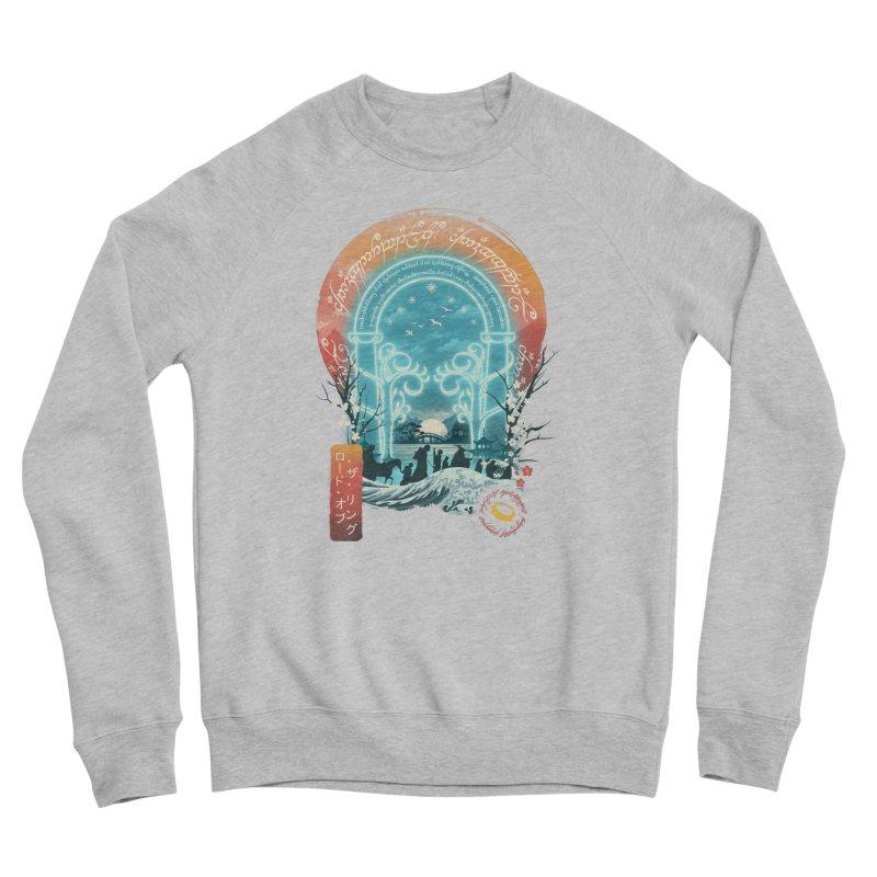 Ukiyo E Magical Landscape Men's Sweatshirt by dandingeroz's Artist Shop
