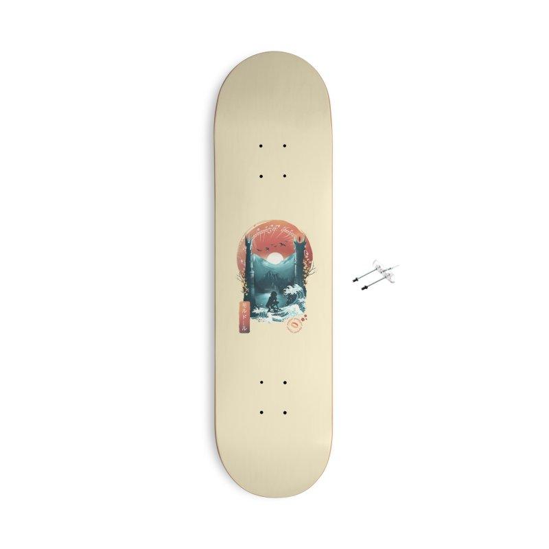 Magical Towers Accessories Skateboard by dandingeroz's Artist Shop