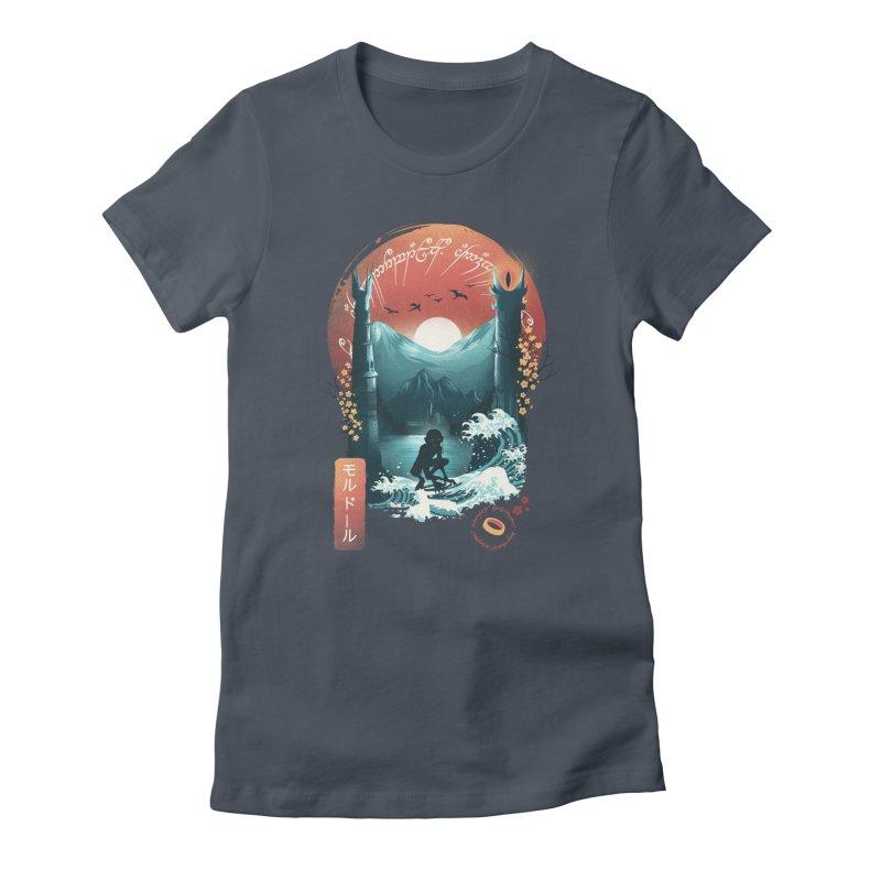 Magical Towers Women's T-Shirt by dandingeroz's Artist Shop