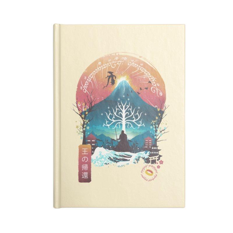 The King Landscape Accessories Notebook by dandingeroz's Artist Shop