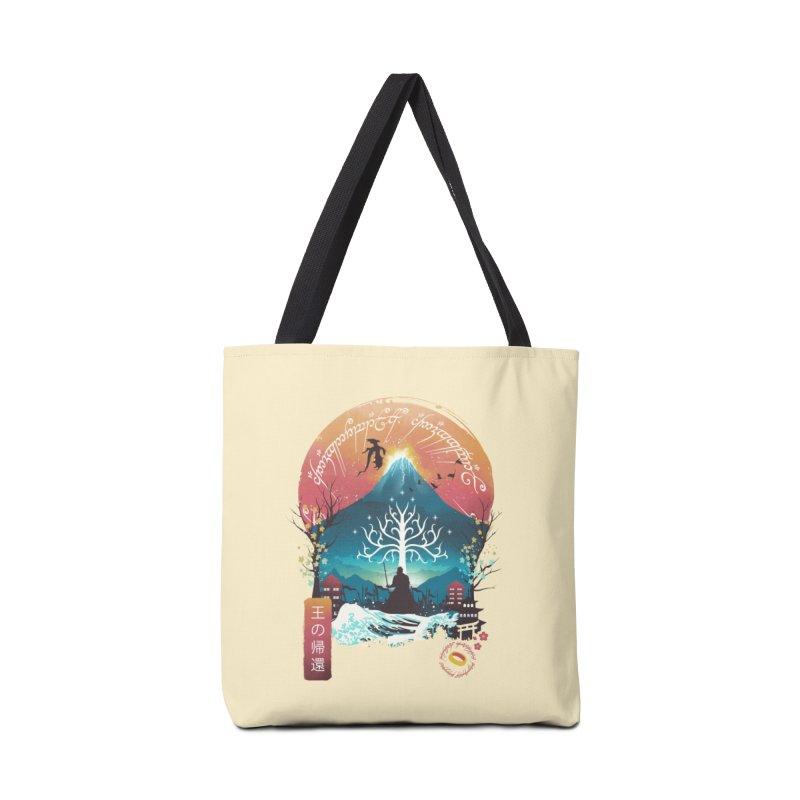 The King Landscape Accessories Bag by dandingeroz's Artist Shop