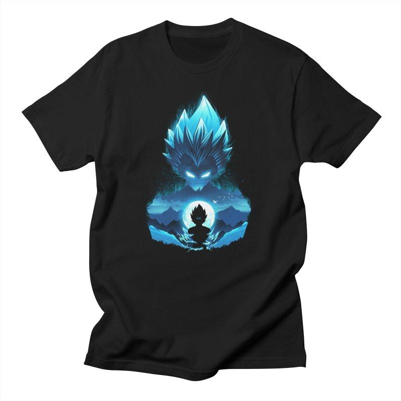 Vegeta Night Men's T-Shirt by dandingeroz's Artist Shop