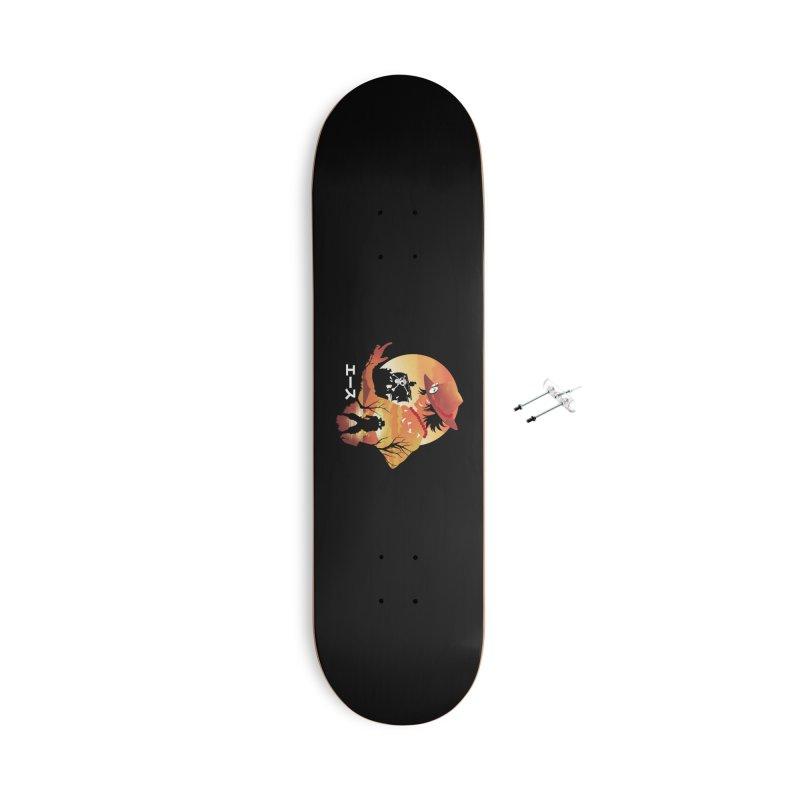 Ace Landscape Accessories Skateboard by dandingeroz's Artist Shop