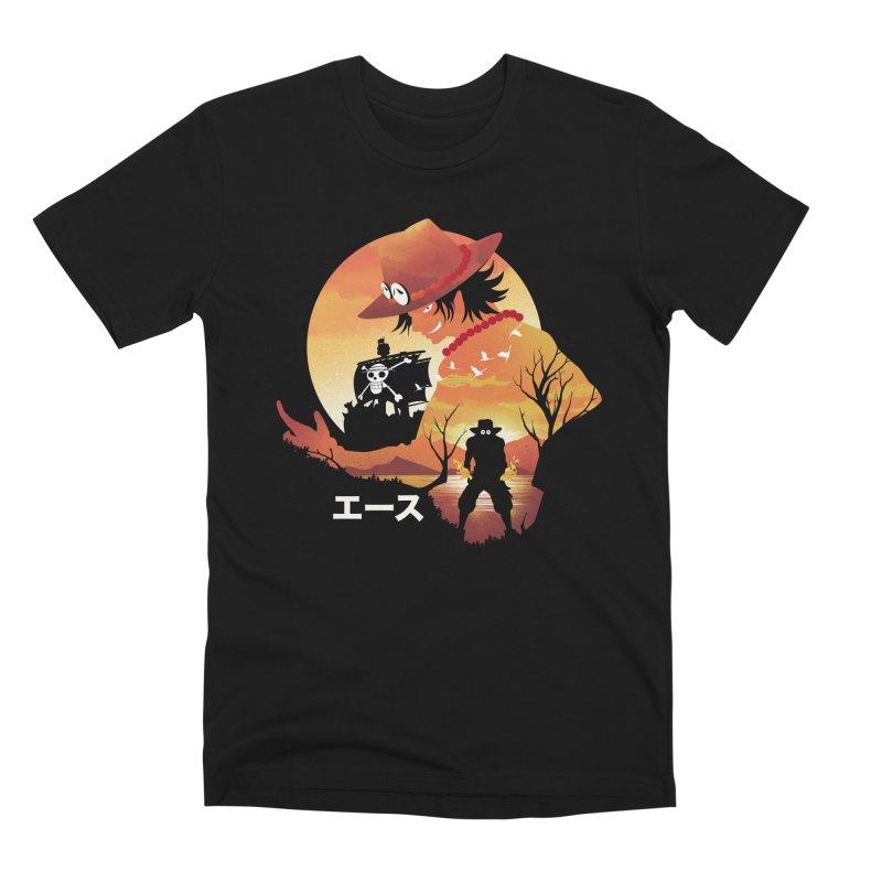 Ace Landscape Men's T-Shirt by dandingeroz's Artist Shop