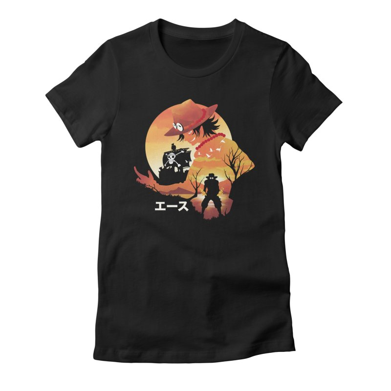 Ace Landscape Women's T-Shirt by dandingeroz's Artist Shop