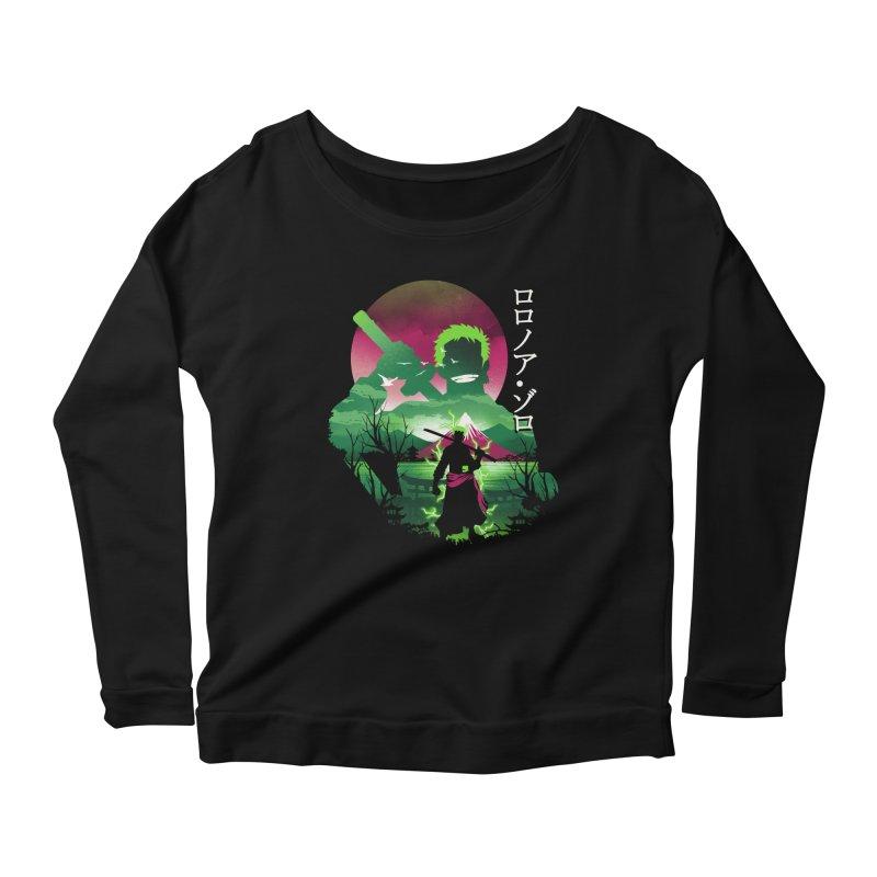 Zoro Landscape Women's Longsleeve T-Shirt by dandingeroz's Artist Shop