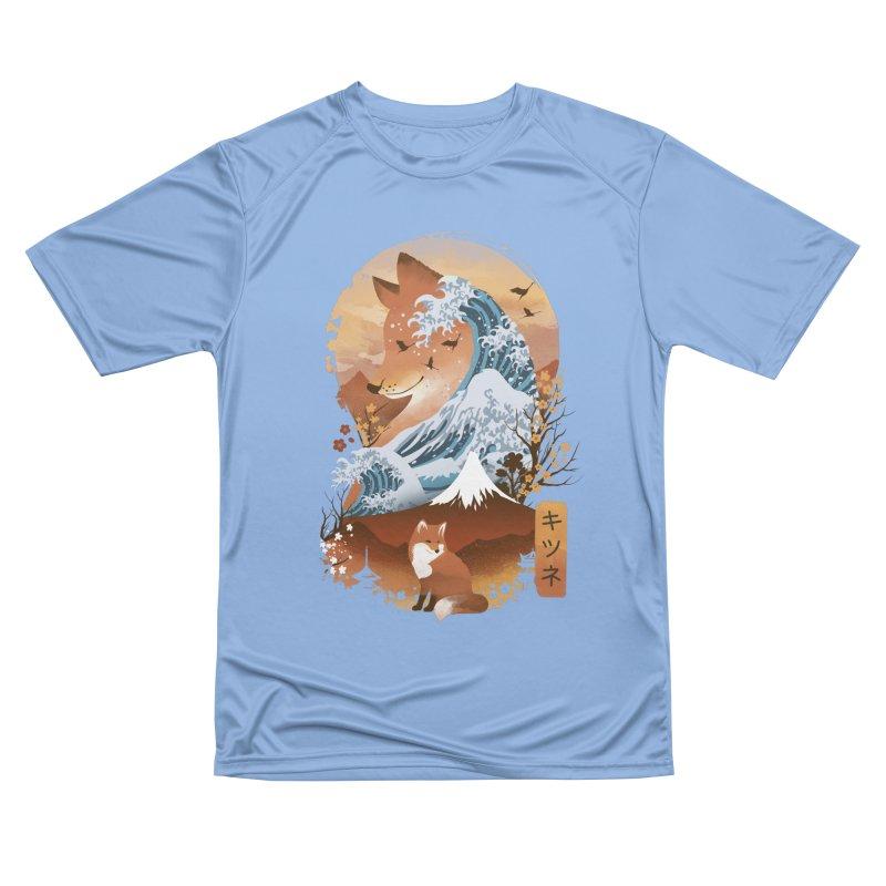Kitsune Landscape Women's T-Shirt by dandingeroz's Artist Shop
