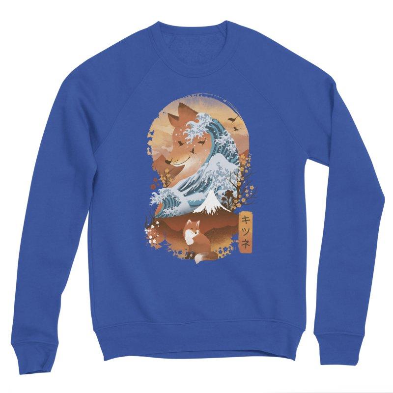 Kitsune Landscape Women's Sweatshirt by dandingeroz's Artist Shop